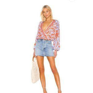 Free People Cruisin Together Blouse. M